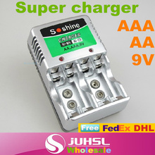 Multifunctional super charger, soshine SC-Z23, applicable AA AAA 9V ni-mh rechargeable battery,Chargers,Consumer Electronics,A