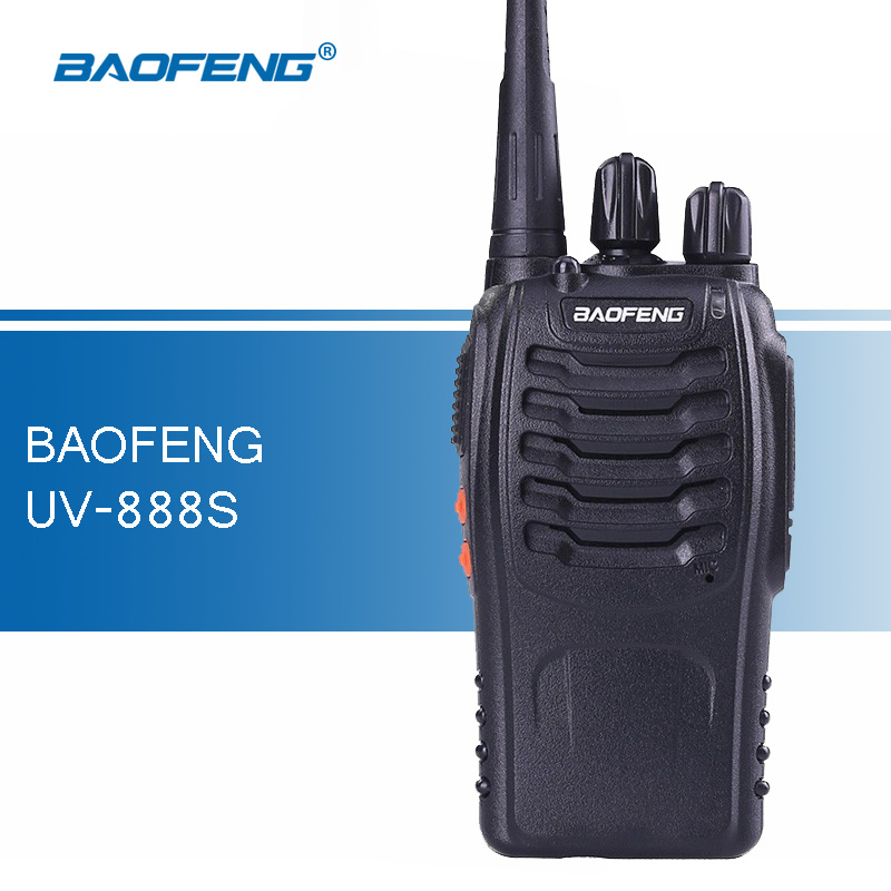 Original Baofeng 888S Walkie Talkie 5W UHF 400-470MHZ Handy Transceiver Handheld Two Way Ham Radio baofeng bf-888s Walkie-talkie(China (Mainland))