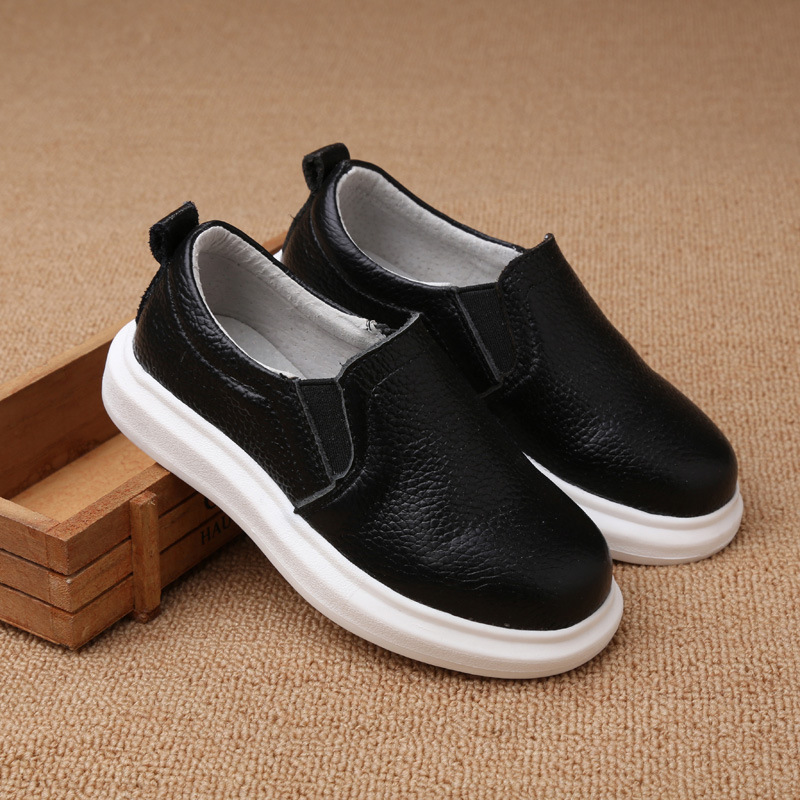 2015 New autumn children shoes boys casual flats shoes kids shoes comfort Genuine Leather sneakers<br><br>Aliexpress
