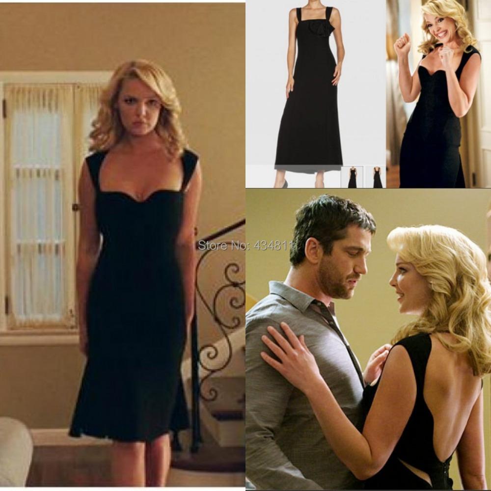 2014 Popular Katherine Heigl Black Sexy Dress in Movie The ...