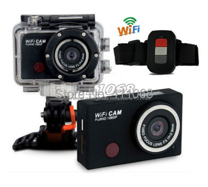SY5000 Action Camera DVR Wifi Camera wdv5000 1080P Full HD with Watch Remote free shipping(China (Mainland))