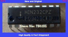 10PCS Authentic HIN232CPZ DIP-14 USB to 232 Serial Interface IC chip components Free Shipping (YF0817)(China (Mainland))