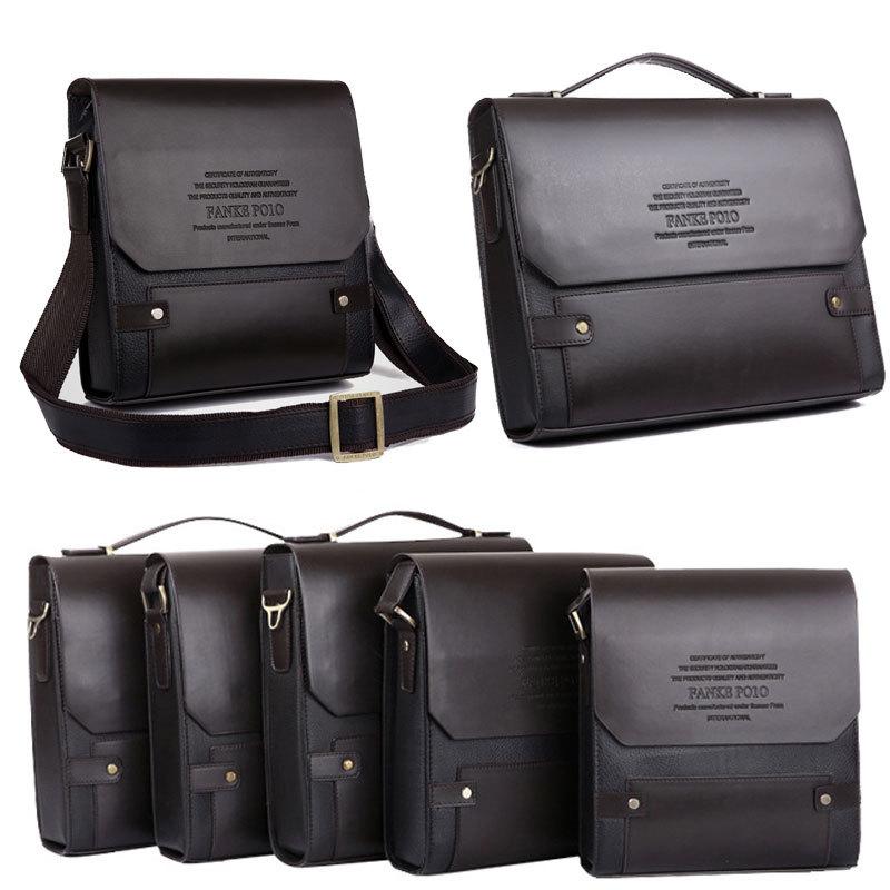 Гаджет  New 2015 Hot Sale Fashion Men Business Bags Men Genuine Leather Messenger Bag High Quality Man Brand Waterproof Shoulder Bag None Камера и Сумки