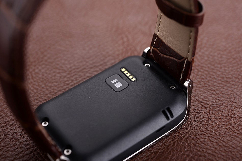 The Strap Balck Brown Steel Leather For Samsung Galaxy Gear 2 NO.1 G2 Smart Watch Replaceacle Freely
