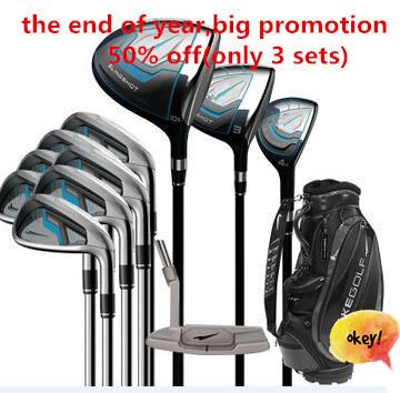 2015 high quality graphite golf clubs men golf full set club iron sets original male complete set of brand golf clubs fashion(China (Mainland))