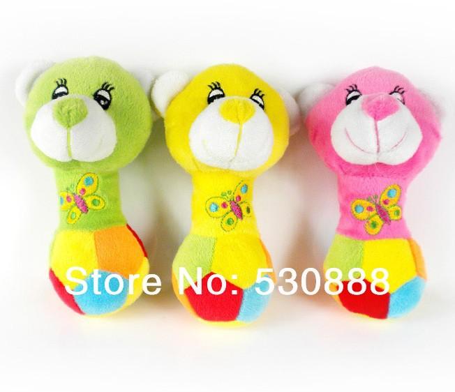 HD-153 Pet Products Pet Toys Plush Toys Dog Toys Cute Dog Bear 5PCS/LOT(China (Mainland))