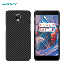 OnePlus 3/OnePlus Three/One Plus 3 A3000 mobile phone cases Nillkin Synthetic fiber Back Cover Military quality Hard shell - Shenzhen Easybuy Electronics Co.,Ltd store