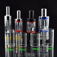 20pcs Replacement glass for  E Cigarette  Atomizer dual Coil Unit Core  for M14  M16 M18 M22 Atomizer Vaporizer