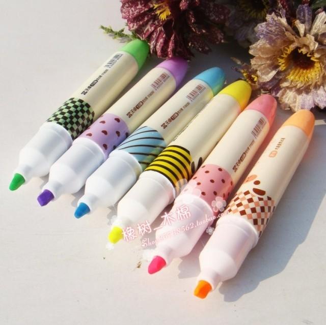 Aroma tt 86280 neon pen cartoon large capacity marker pen