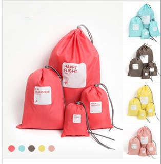 4 pc/lot New Shoe storage bag Cloth Suit /outdoor travel bag /waterproof bag /Bra Case Garment Packing Cubes Covers(China (Mainland))