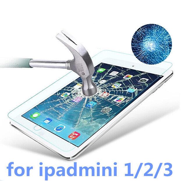 For ipadmini protective Guard Film Toughened glass Transparent Premium Tempered Glass Screen Protector For iPad mini
