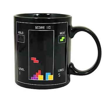 Tetris Style Sublimation Coffee Mug Color Changing Ceramic Cup and Mug Cartoon Coffee Mug Y-05(China (Mainland))