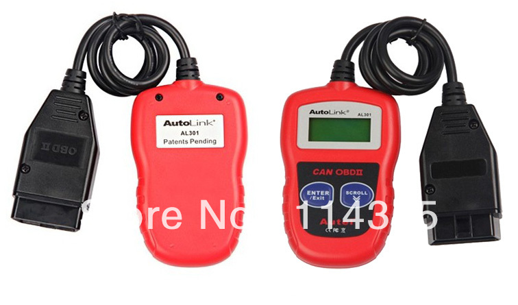 New Arrival Top-Rated Auto Code Scanner Autel Auto Link AL301 AUTO Scan Tool Autel Al301(China (Mainland))