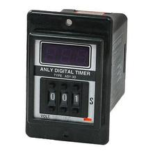 AC 380V 0-999 Seconds 999S Power Delay Time Timer Relay 8P DPDT Black ASY-3D - WHF' S Store store