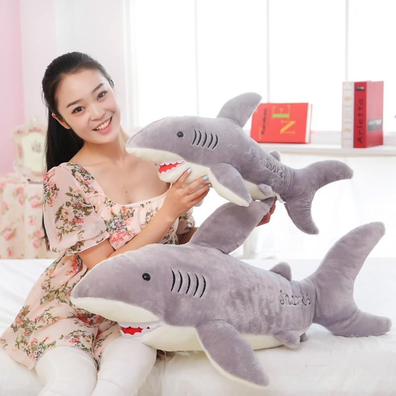 70cm Size Shark Plush Toy Deer Doll Cartoon Doll