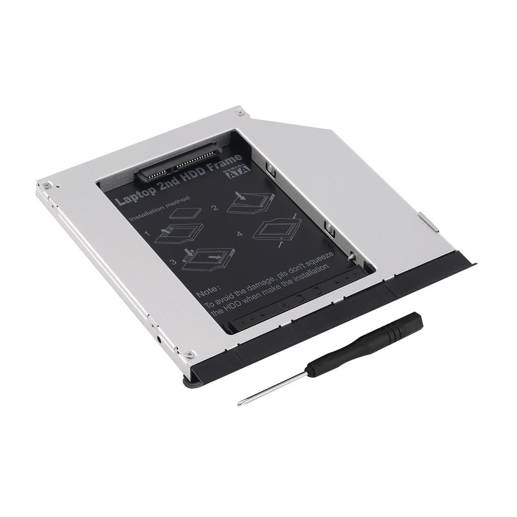 1pc 2.5 9.5mm Second SATA Hard Drive Module Caddy for DELL E6320 E6420 E6520 E4300 E4310 Newest Wholesale Store<br><br>Aliexpress