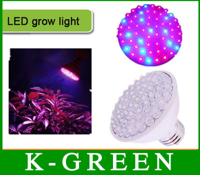 hot sales E27 2W LED grow light with 660nmRed+440nmblue Epistar LED chip Free Shipping(China (Mainland))