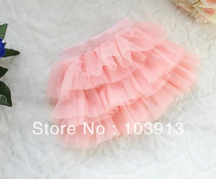 Baby Tulle Lace Short Bubble Skirt Girls Cake Skirts Children Dancing Princess TUTU - MM 's Premier Store store
