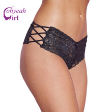 Buy PW5124 Ohyeahgirl High black/red/white lace panties briefs popular plus size XL-3XL sexy women underwear sexy panties for $2.31 in AliExpress store