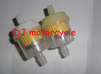 Universal motorcycle fuel filter wholesale Cheap dirt bike oil filter  Hot selling ATV gask filter  mini motocross 1lot=100pcs