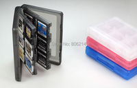 Free&Fast Shipping 28 in 1 Protective Game card Cartridge Holder Case Box For Nintendo DS / DS Lite / DSi / 3DS / 3DS XL/LL