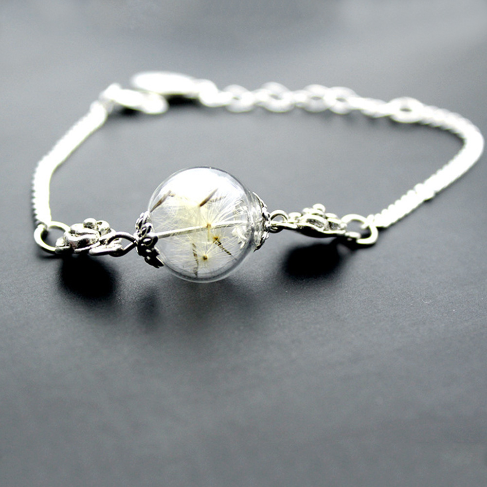 Buy Fashion Women Bracelet Alloy Dandelion Bracelets ...