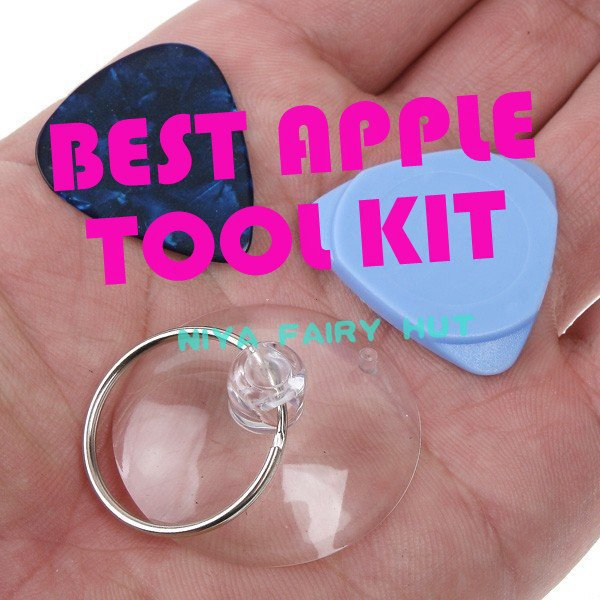 BEST APPLE TOOL KIT~~5SETS/LOT Screwdriver Opening Pry Tool Repair Kit Set for iPod Touch iPhone 4 4S 4G 3G 3GS Free Shipping(China (Mainland))