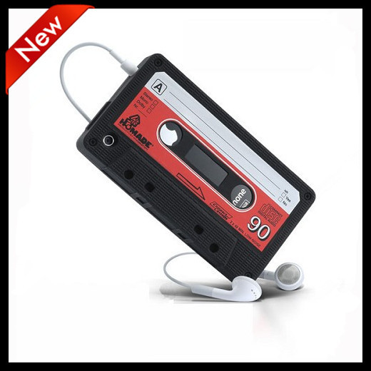 High quality Retro Silicone Cassette Tape Skin Case Protector Cover for Apple iPhone 4 4S 5 5S NEW(China (Mainland))
