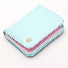 pu leather wallet promotion