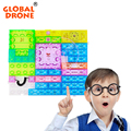 59pcs Integrated Circuit Building Blocks Electronic Playground DIY Plastic Model Kits Science Educational Kids Toys