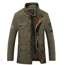 Mens Military Styled Army Green Plus SIze 6XL 5XL 4XL XXXL Jacket Brand New Men Outdoors Formal Coat(China (Mainland))