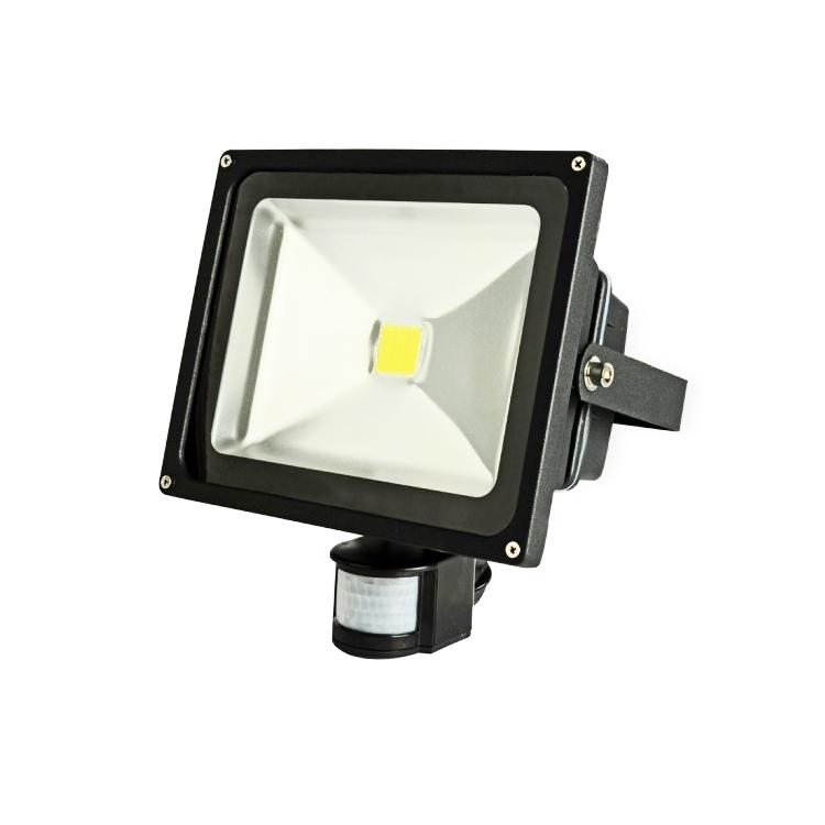 Outdoor Led Flood Light for Square IP65 Outdoor Security Classic/Dusk Photocell PIR Sensor AC LED Flood Light 30W<br><br>Aliexpress