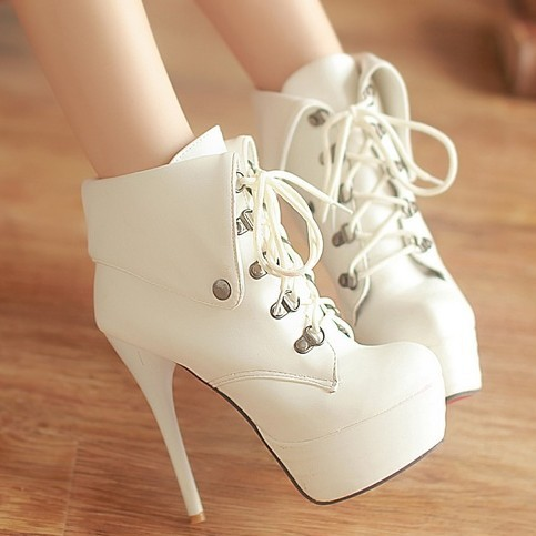 2013 fashion lace boots platform super high heels boots fashion boots banquet boots Stage<br><br>Aliexpress