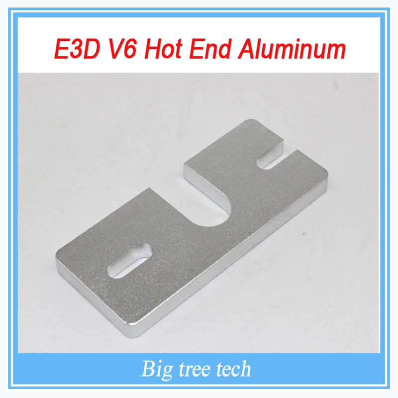 2PCS 3D printer accessory Reprap E3D V5 V6 Hot End Aluminum Mount Plate for Makergear J