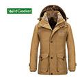 Wildgeeker Mens Coat Solid Polyester Loose Waterproof Thickened Winter Snow Warm Jacket Male Coat Parkas Plus
