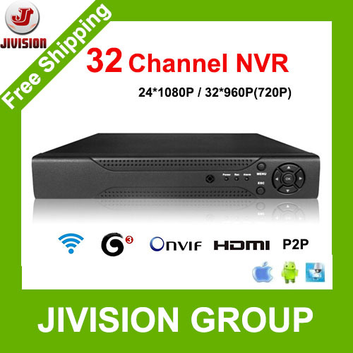 32CH NVR CCTV 24CH 1080p 32CH 960p 720p NVR 32ch HDMI ONVIF P2P Cloud network support