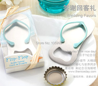 Creative novelty items flip flops bottle opener wedding favors,gift packaging,giveaways for guest