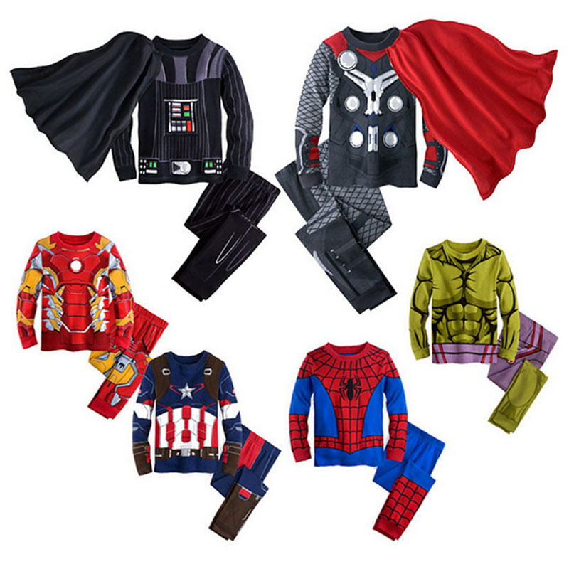 Halloween Costumes Star Wars Thor Iron men Spidermen Captain American Hulk Costume for Kids Boy Girls SuperHero Cosplay ClothingОдежда и ак�е��уары<br><br><br>Aliexpress