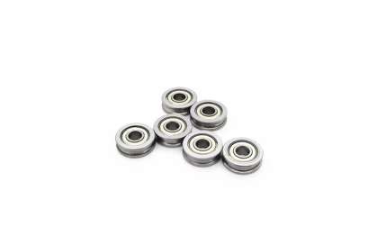 Free shipping 50pcs/lot 3d printer bearing 604UU U604ZZ bearing walking guide rail groove embedded U type groove pulley bearing<br><br>Aliexpress
