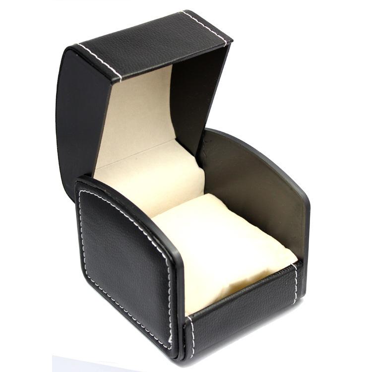 Famous Single Logos May Put Famous Brand Logo pu Box For Single Watch Leather Luxury Watch