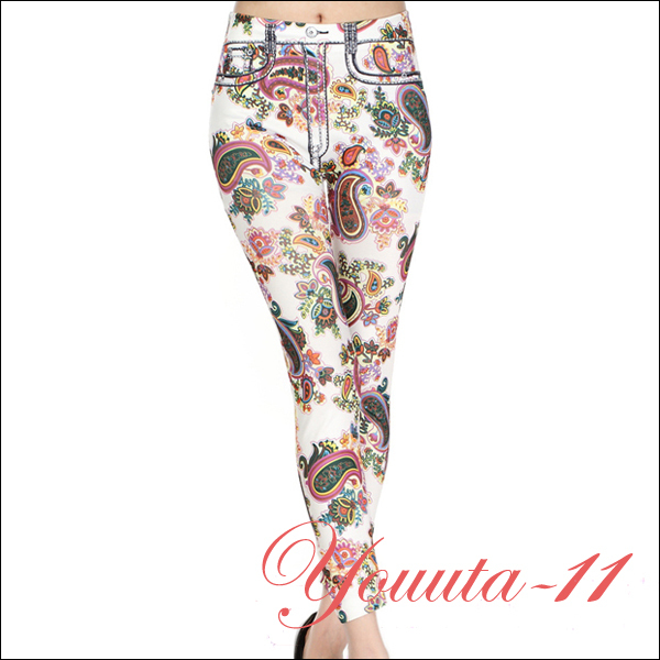 Cool Floral Printing Women Leggings Free Size Best Sellers Sale - Youuta-11 store
