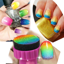 Nail Art Brush Design Stamping Polishing Brushes Stamper Sponge Manicure Tool DIY Hot New Fashion Useful Nail Buff
