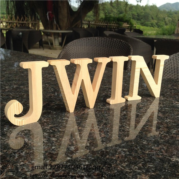 Wholesale 10cm high wood wooden letters a to z alphabet for Where to buy wooden letters cheap