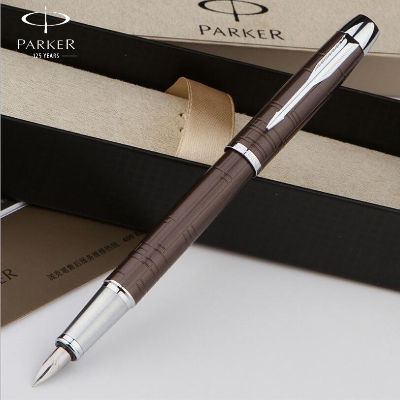 1pcs/lot Commercial metal fountain pen Parker pen shape gift pen core solventborne automatic pen free shipping<br><br>Aliexpress