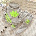 2016 New Toddler Boys Clothing Children Boys Clothes spring autumn sports suit Kids girls Set Hoodies