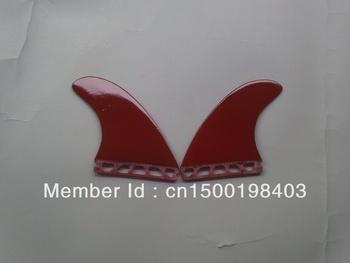 Future/G5/Surfboard fins/Fins/Fiberglass materials/Matte red/2 pcs per set/Professional/High quality/Competitive price