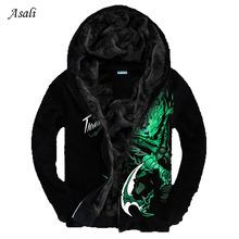 Sweatshirt Men LOL 3D Brand-Clothing Men's Fashion Sweatshirt Hoodie Coat Chandal Hombre Male Casual Sport Hoodies Jacket Men