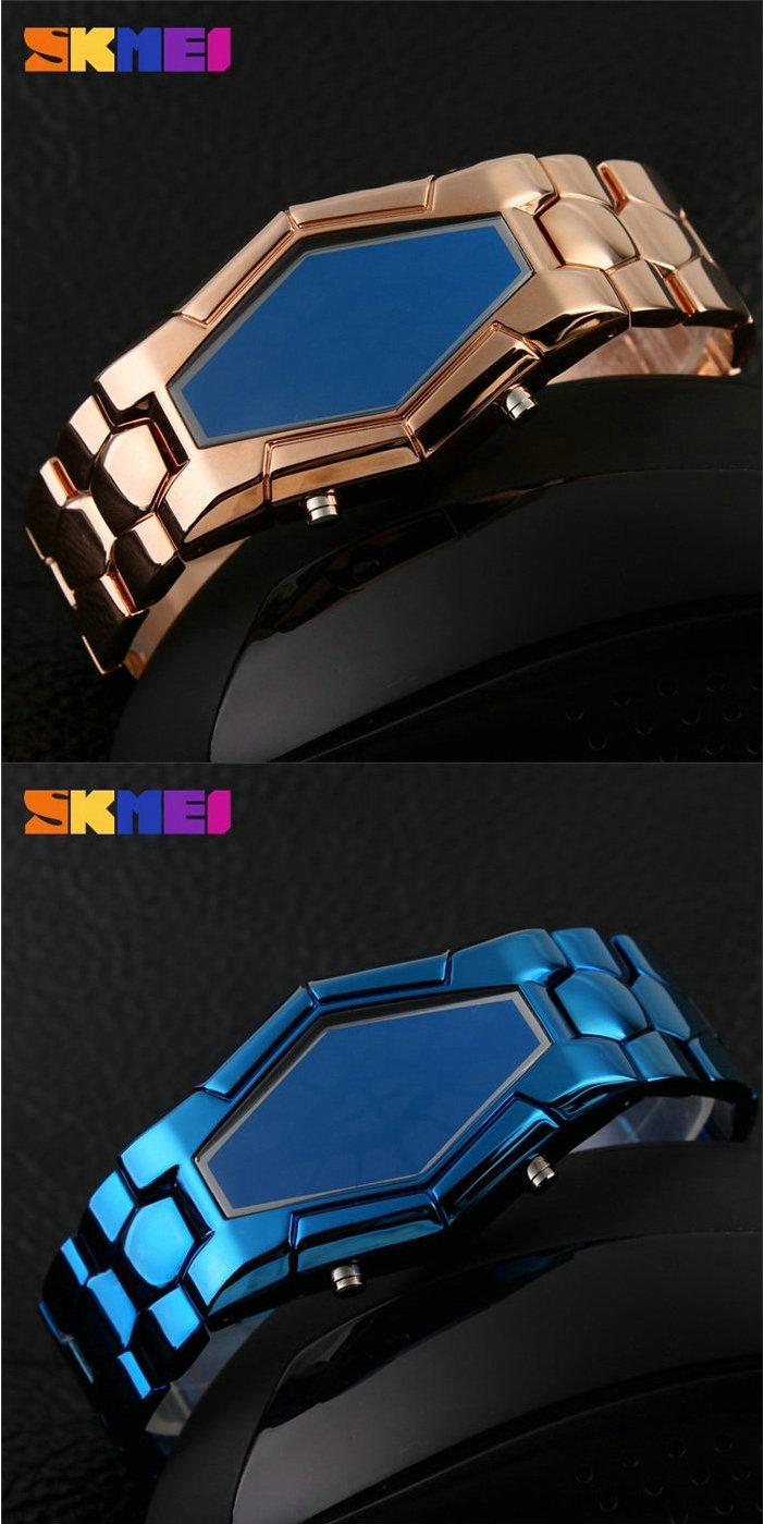 Оптовые Ювелирные Изделия Новый Дизайн Золотая Цепочка Бинарные Часы Для Мужчин