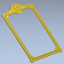Frame_47 3d model design exclusive simple flower frame relief cnc machine STL file Square Picture - Professional 3D models Supplier Co,.Ltd store