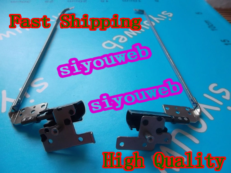 New&Original LCD Hinges with covers L&H FOR Dell Inspiron N5110 15R M511R M5110 Laptop FREE SHIPPING(Hong Kong)